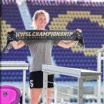 Sam Mewis during 2017 NWSL Media Day. (Monica Simoes)