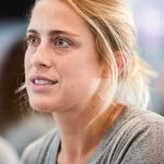 Abby Dahlkemper during 2017 NWSL Media Day. (Monica Simoes)