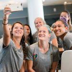 Team selfie. (Monica Simoes)