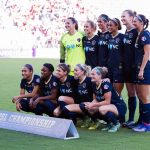North Carolina Courage starting lineup in the 2017 NWSL Championship. (Monica Simoes)