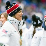Meghan Duggan, member of the gold-medal winning U.S. Women's National Hockey Team, at the 2018 SheBelieves Cup. (Monica Simoes)