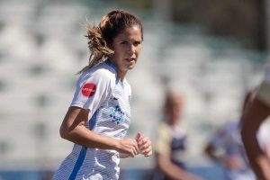 Katie Johnson of Sky Blue FC. (Shane Lardinois)