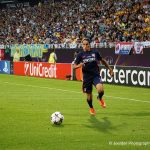Amel Majri on the attack for Lyon. (Daniela Porcelli)