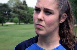 Mary Earps, goalkeeper for Wolfsburg (YouTube, Reading).