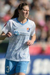 Sky Blue FC's Rebekah Stott. (Shane Lardinois)