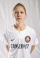 Becca Moros head shot for the Utah Royals FC.