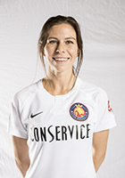 Erika Tymrak head shot for the Utah Royals FC.