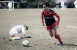 Estelle Johnson of the Washington Spirit (Chris Colvin).