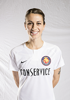Mandy Laddish head shot for the Utah Royals FC.