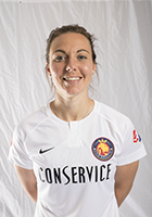 Rachel Corsie head shot for the Utah Royals FC.