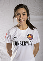 Sydney Miramontez head shot for the Utah Royals FC.