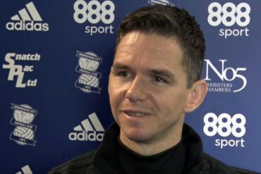 Marc Skinner, head coach of Birmingham City, via YouTube