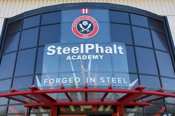 Entrance to Sheffield United training grounds. (Rich Laverty)