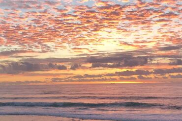 Australian sunrise courtesy of Katie Stengel.