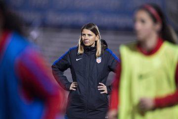 U.S. U-20 National Team head coach Jitka Klimková. (U.S. Soccer)