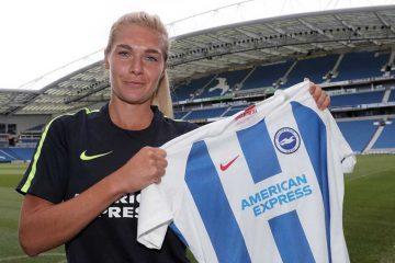 Emily Simpkins for Brighton & Hove Albion (Paul Hazlewood).