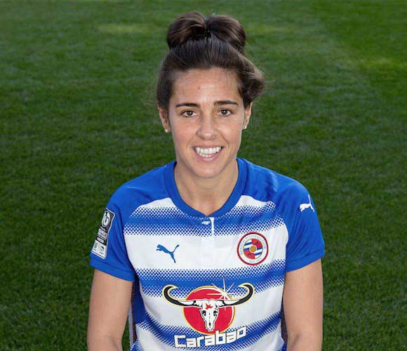 Fara Williams headshot for Reading. (Reading FC)