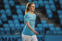 Keira Walsh for Man City (Keira Walsh, Instagram).
