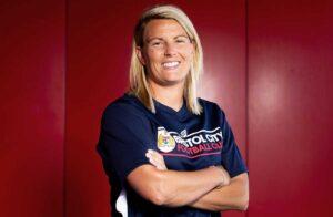 Tanya Oxtoby, head coach of FA WSL side Bristol City (Bristol City).