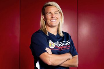 Tanya Oxtoby, head coach of FA WSL side Bristol City (Bristol City).