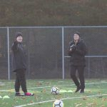 Kerin Maguire and Emma Nunan during the first AKFC Adult Camp.