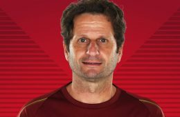 Joe Montemurro, head coach of Arsenal. (Arsenal)