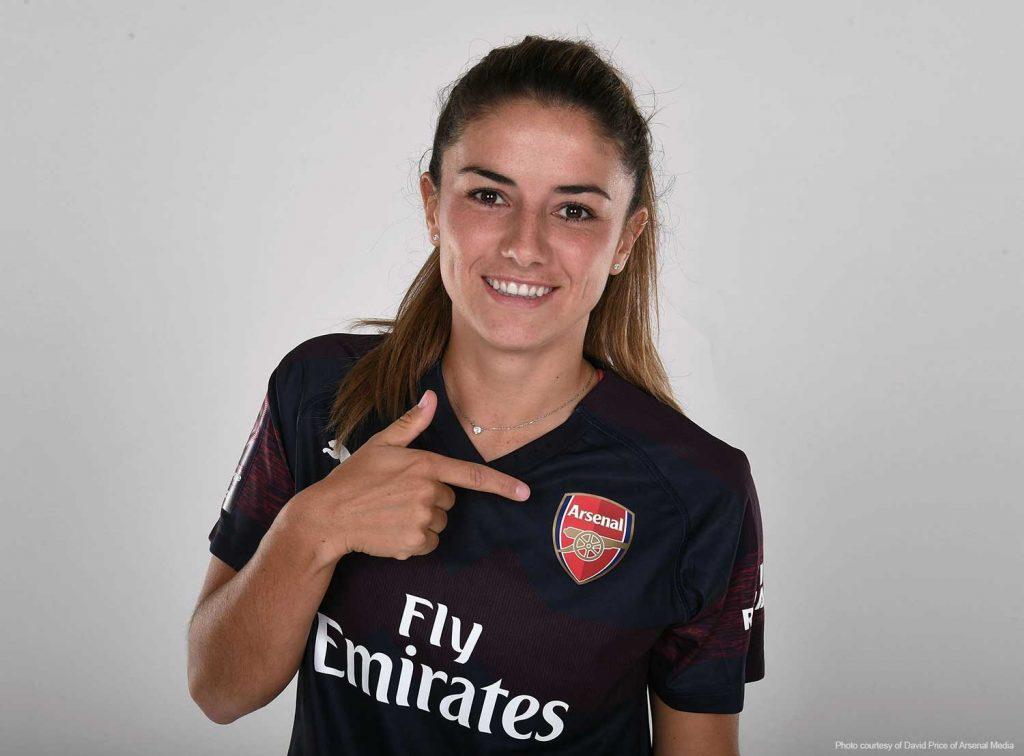Danielle van de Donk headshot (Photo courtesy of David Price of Arsenal Media).