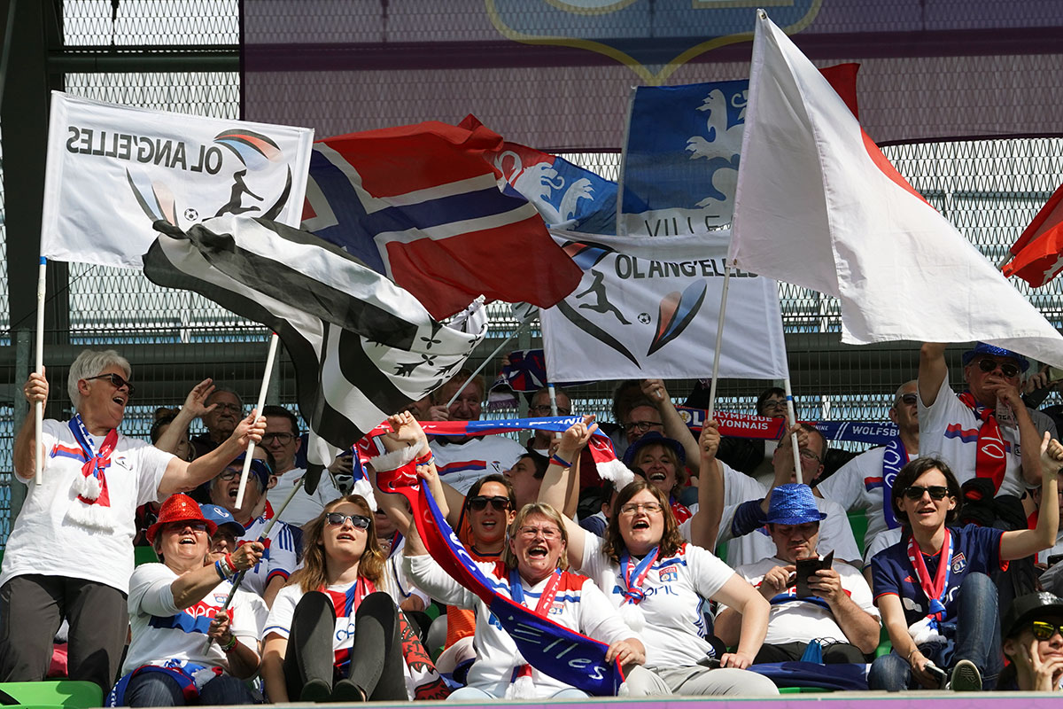 Lyon supporters. (Daniela Porcelli / OGM)