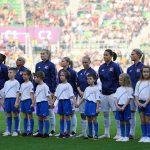 Lyon's starting lineup for the 2019 UEFA Women's Champions League final. (Daniela Porcelli / OGM)