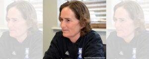 Marta Tejedor, head coach of Birmingham City (Roy Smiljanic/Birmingham City FC)