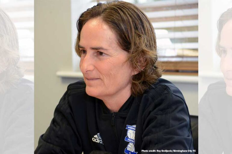 Marta Tejedor, head coach of Birmingham City (Roy Smiljanic/Birmingham City FC)