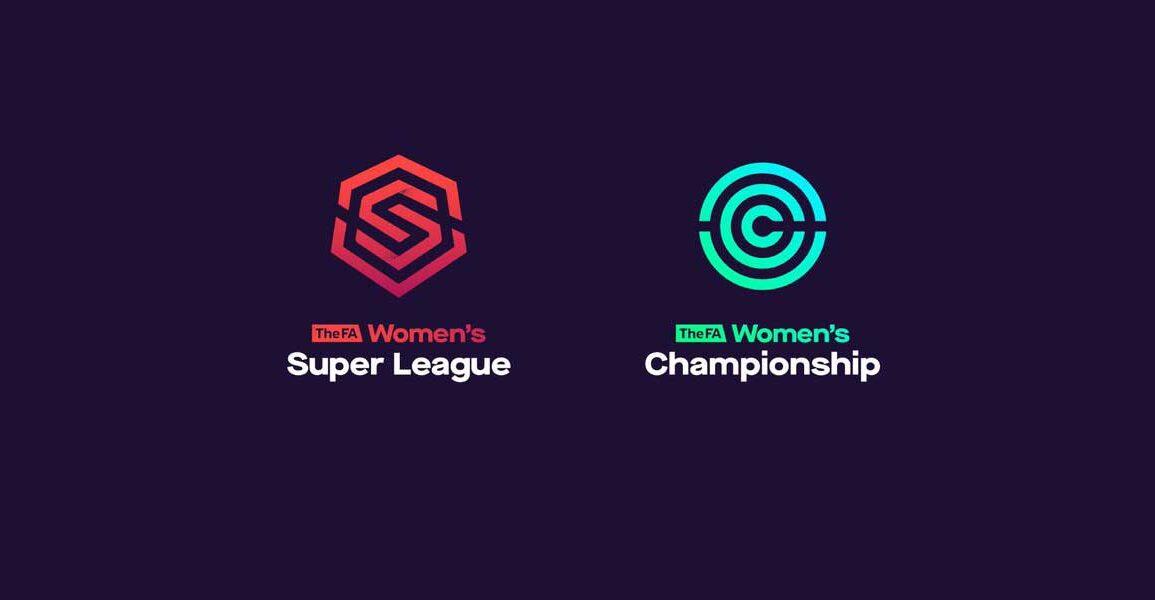 FA Women's Super League and FA Women's Championship logos.