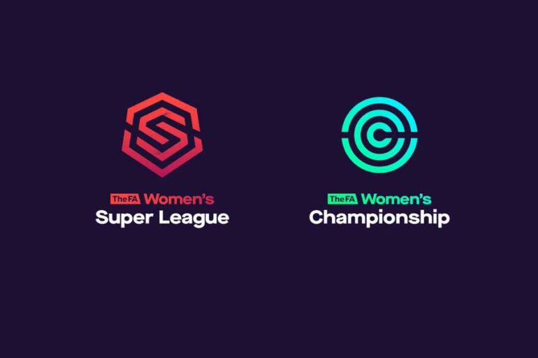 FA Women's Super League and FA Women's Championship logos.
