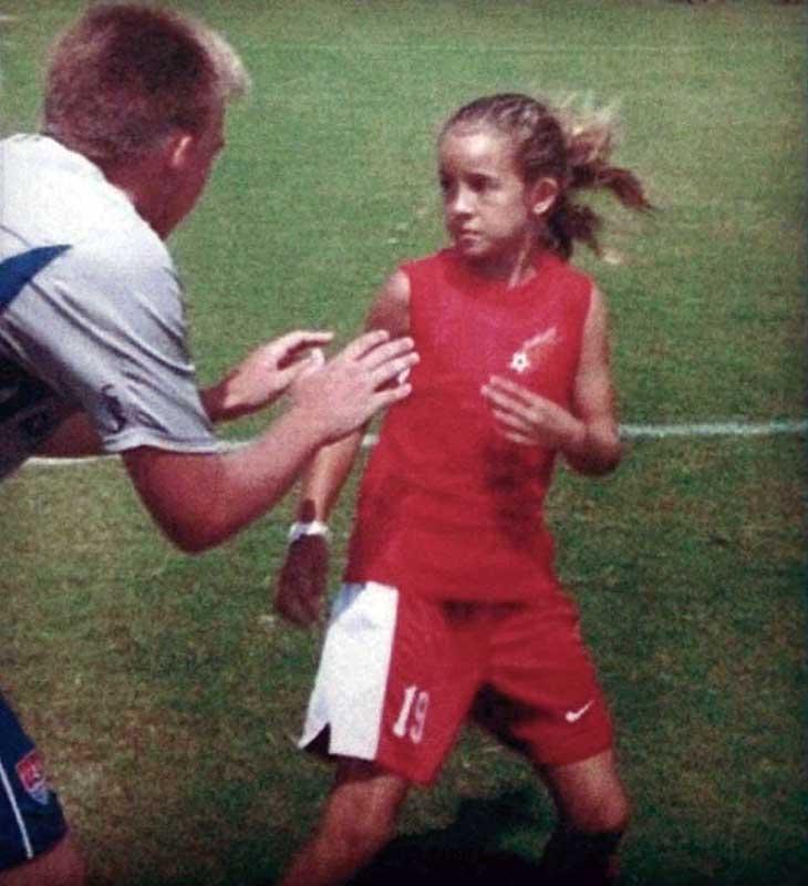 Havana Solaun as a young player. (Havana Solaun)