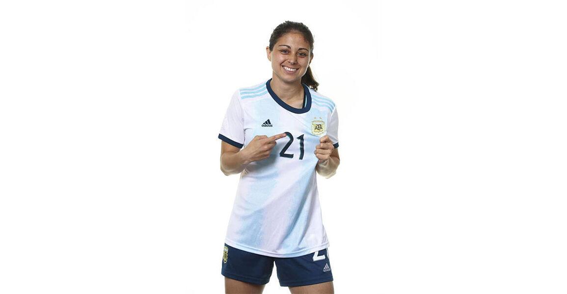 Argentina's Natalie Juncos. (Getty Images)