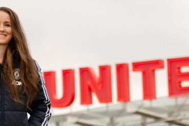 Casey Stoney, manager of Manchester United. (Manchester United)