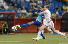 Spain's Celia Jimenez Delgado. (Minas Panagiotakis / Getty Images)