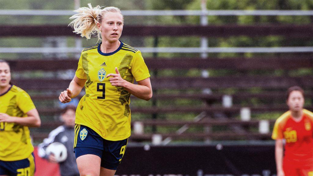 Sweden's Rebecka Blomqvist. (Svenskfotboll.se)