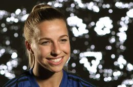 Jackie Groenen during an interview. (Manchester United)