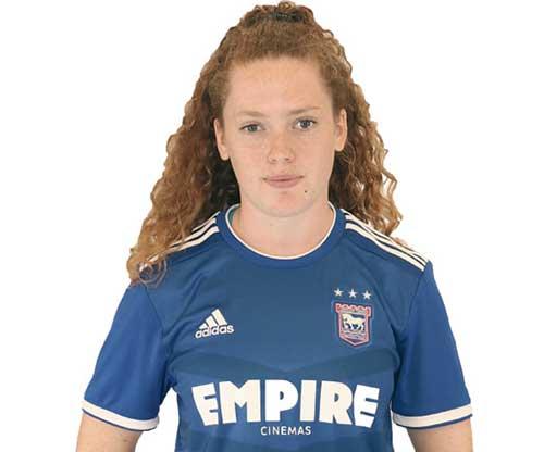 Ipswich Town midfielder Blue Wilson. (Ipswich Town)