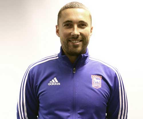 Ipswich Town head coach Joe Sheehan. (Ipswich Town)