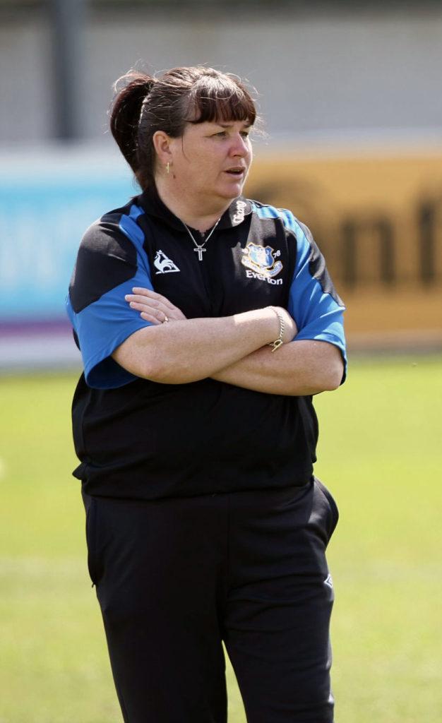 Everton head coach Mo Marley.