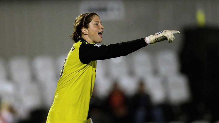 Marie Hourihan playing for Chelsea. (Chelsea FC)