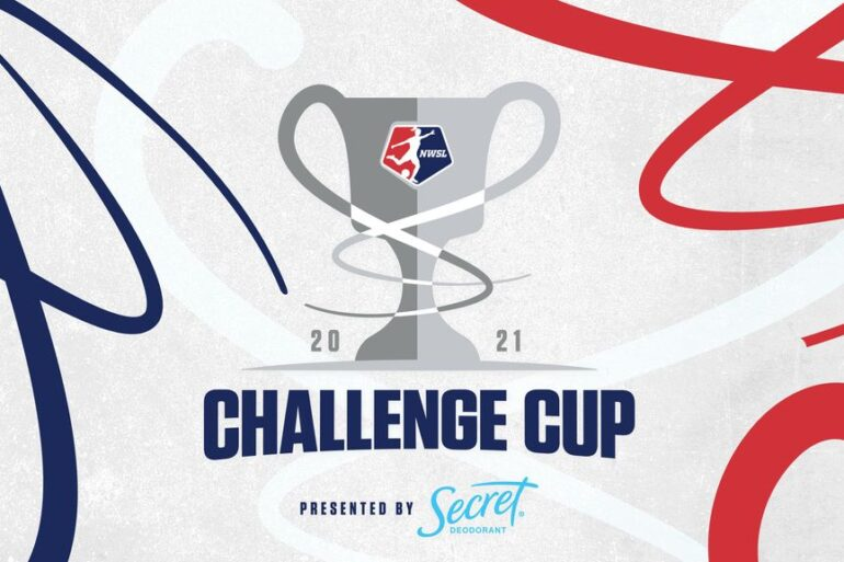 2021 NWSL Challenge Cup logo banner