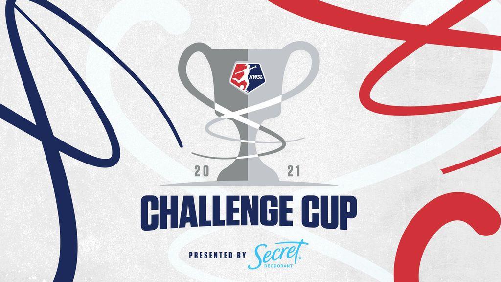 2021 NWSL Challenge Cup logo banner