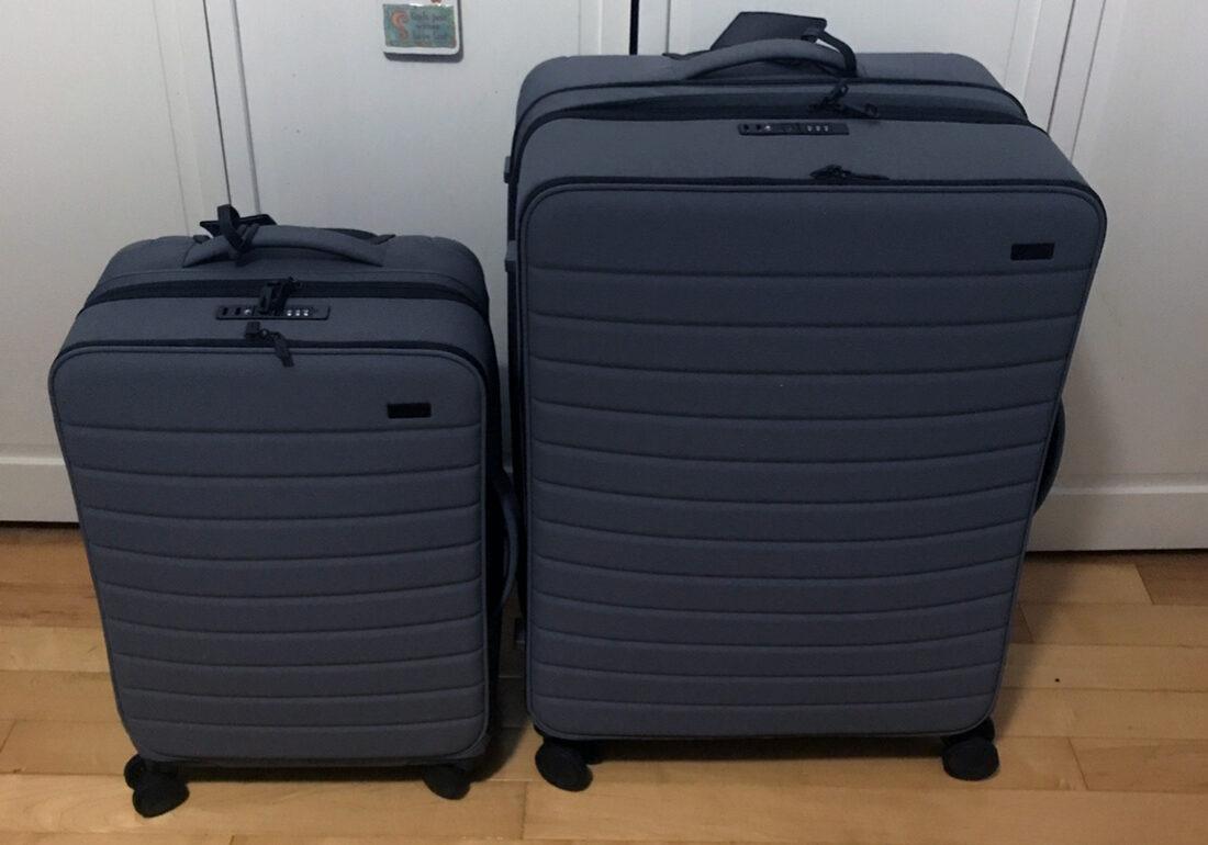 Havana Solaun's well-traveled luggage. (Hacana Solaun)