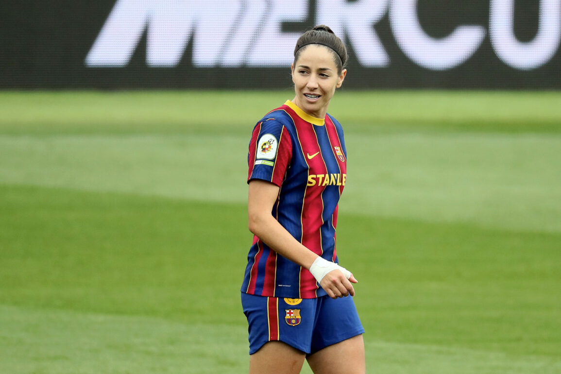 Vicky Losada playing for FC Barcelona. (Rafa Huerta)