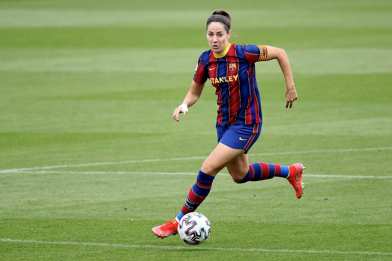 Vicky Losada playing for FC Barcelona,. (Rafa Huerta)