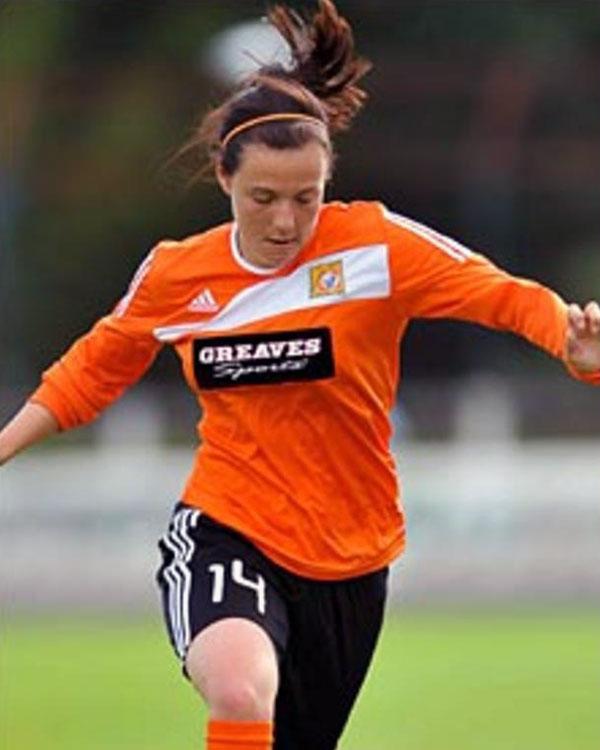 Rachel Corsie playing for Glasgow FC. (Rachel Corsie)